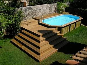 25 best ideas about piscine hors sol on pinterest With modele escalier exterieur terrasse 14 escalier escamotable