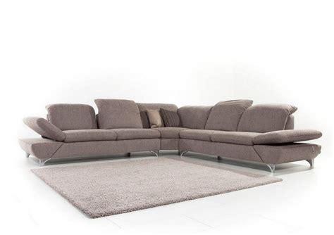 canapé 6 places angle canapé d 39 angle lineflex 6 places en cuir ou tissu