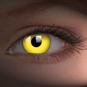 Cheap Prescribed Halloween Contacts by Yellow Uv Contact Lenses Pair Edit Uv Contact Lenses