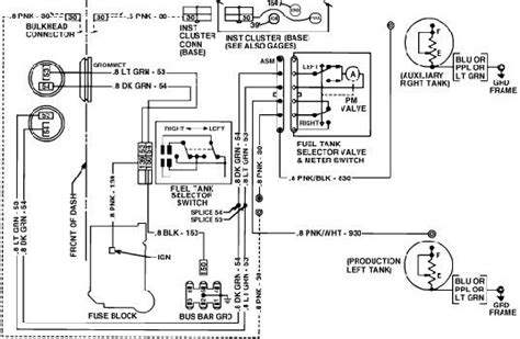 Ford Fuel Tank Selector Valve Wiring Diagram by Can Anyone Help With The Wiring For Dual Tanks Plowsite