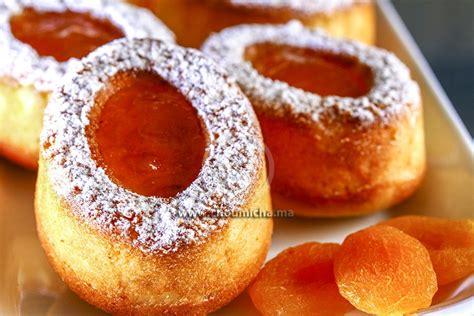 recette financiers aux abricots secs