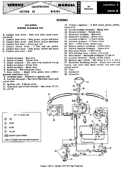 Harley Hummer Wiring Diagram hhc restore chapter 66 wiring diagrams