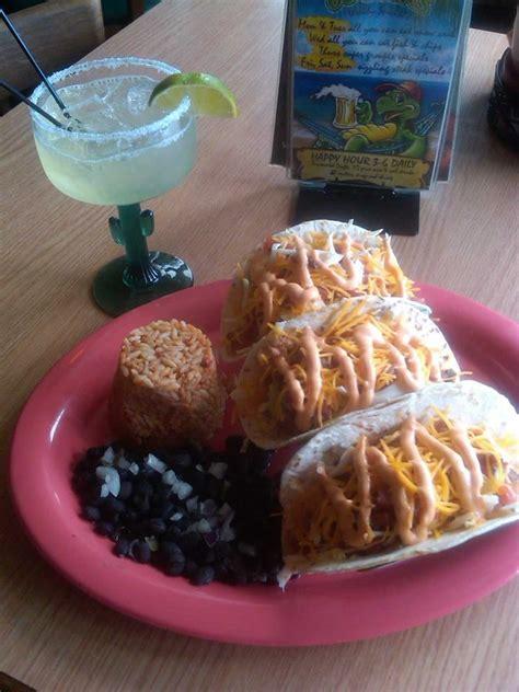 grouper tacos fried clearwater restaurants salsa blackened sauce homemade cheddar fresh shredded cabbage cream