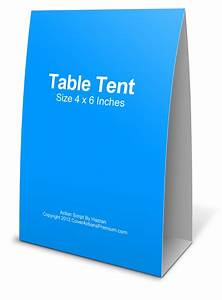 4x6 table tent mockup cover actions premium mockup psd With 4x6 table tent template