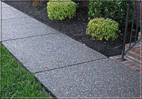 sealing exposed aggregate paving driveways