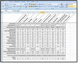side by side comparison template excel - excel spreadsheets help example rating comparison