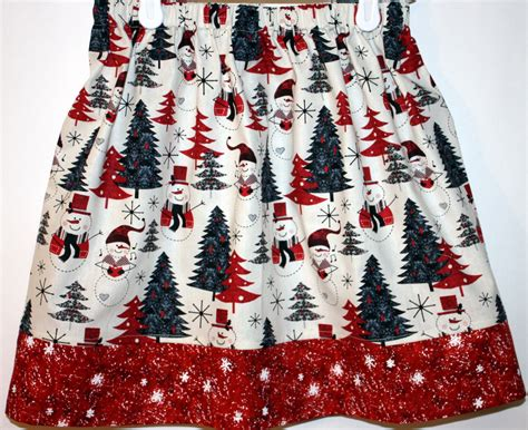 christmas tree skirt size 2 to 7 by bubblenbee on etsy