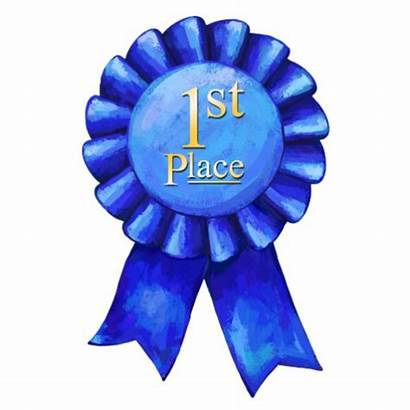 Ribbon Place 1st Clip Clipart Award Cliparts