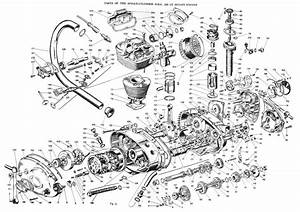 exploded single motor With ducati monza wiring