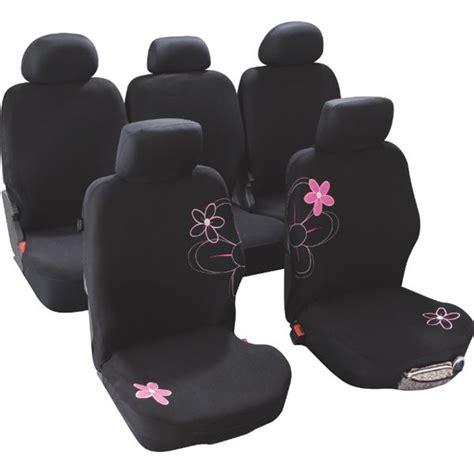 housse de siege auto housses de siège voiture adaptables fleurs taille 4 custo