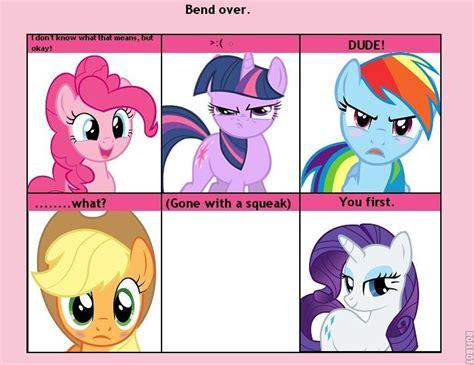 pony mlp memes ponies pinkie reaction pie twilight comic comics mane rarity sparkle response turns visit worth uploaded user