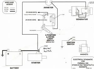 Light Wiring Diagram Farmall H Tractor