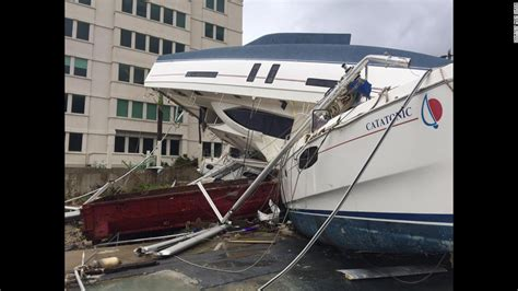 Hurricane Irma Boats Destroyed by Cuba Blasted As Hurricane Irma Tears Through Caribbean Cnn