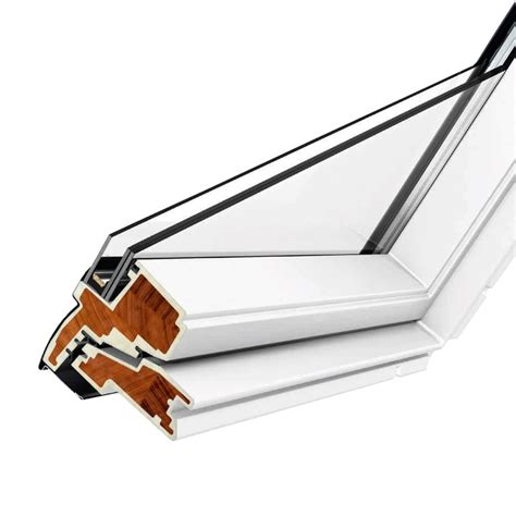 velux gpu pk06 velux gpu pk06 0070 white top hung window laminated 94cm