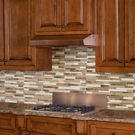 adhesive kitchen backsplash smart tiles sasso approximately 3 in w x 3 in h