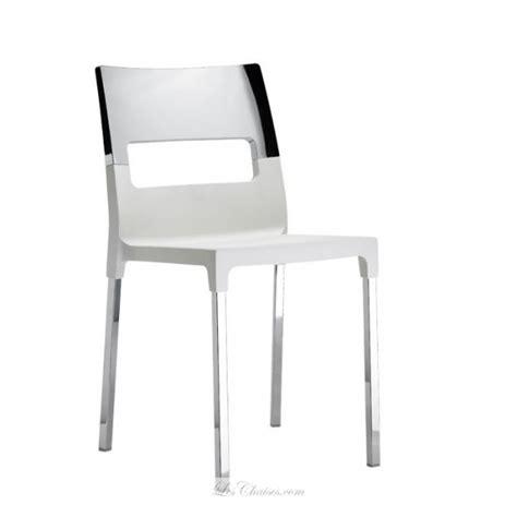 cuisine vert anis chaise design chromé et chaises chromés scab