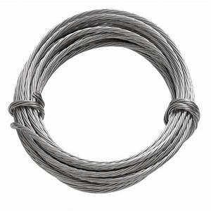 OOK 9 ft 100 lb Stainless Steel Hanging Wire-50116 - The