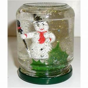 Boule De Neige Noel : boule de neige noel tete a modeler ~ Zukunftsfamilie.com Idées de Décoration