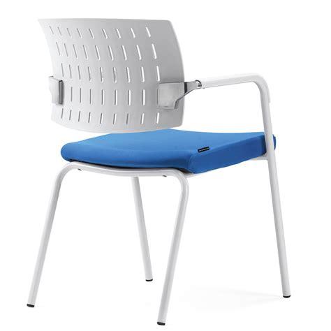 gs g1796c modern plastic four legs office chair guest