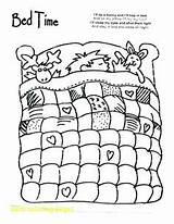 Coloring Pages Night Bed Bedtime Quilt Sheet Sheets Cartoon Printable Quilting Pattern Colouring Animal Bedroom Patterns Worksheets Getcolorings Animals Daycare sketch template