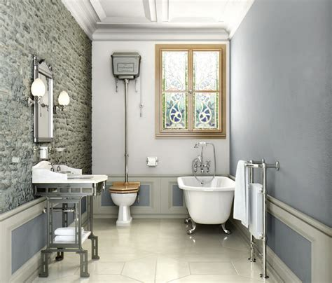 Wallpaper In Kitchen Ideas - amazing victorian inspired bathrooms for you interior design ideas