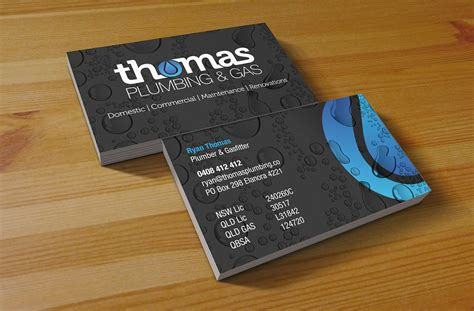 and gas business card templates plumbing gas business card jpg 1400 215 920