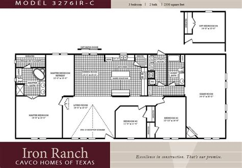 bedroom ranch floor plans large  bedroom  bath