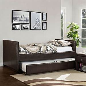 Daybed with trundle ikea ideal for small space home for Daybed with trundle for small spaces