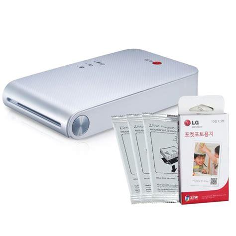 smartphone photo printer portable smartphone printer the lg pd239