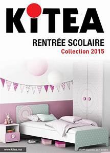 Kitea du 1 septembre au 31 octobre 2015 by maroccatalogues for Chambre design avec sommier et matelas 120x200