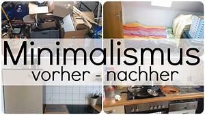 Ausmisten Vorher Nachher : minimalismus vorher nachher vom chaoten zum minimalisten youtube ~ Eleganceandgraceweddings.com Haus und Dekorationen