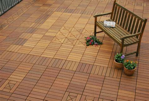 ipe wood deck tiles a garage roof contemporary