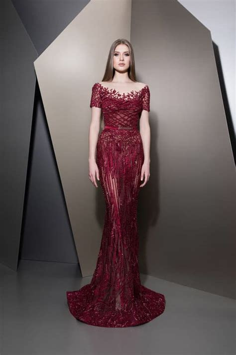 breathtaking evening dresses ziad nakad fall winter