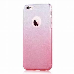 Coque Iphone 6 Rose Poudré : coque iphone 6 6s paillettes et d grad rose ~ Teatrodelosmanantiales.com Idées de Décoration