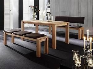 Sitzbank Esszimmer Mit Rückenlehne : esstische auf ma gefertigt ~ Markanthonyermac.com Haus und Dekorationen
