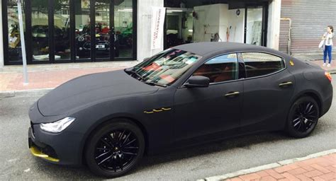 maserati velvet this is what wrapping your maserati ghibli should look like