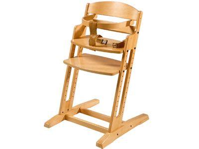 chaise haute bébé en bois wesco amenagement produits chaises hautes pour bebes