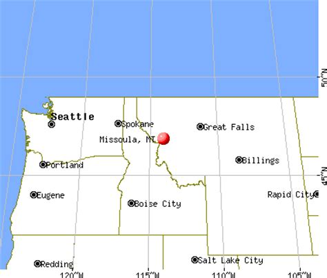 Missoula, Montana (MT) profile: population, maps, real ...