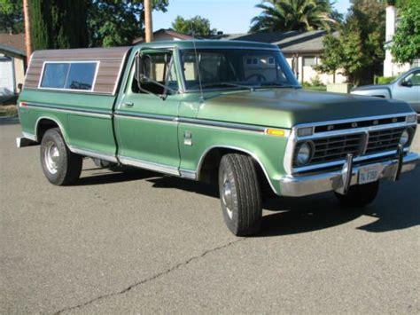 sell    ranger xlt super camper special ford