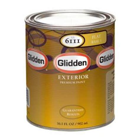 glidden premium 1 qt flat light colors exterior