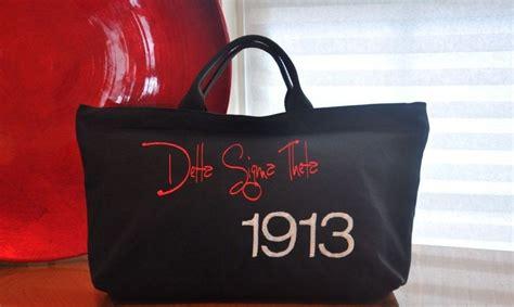Delta Sigma Theta 1913 Tote Bag. .00, Via Etsy