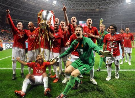 Soccer – UEFA Champions League – Final – Manchester United ...