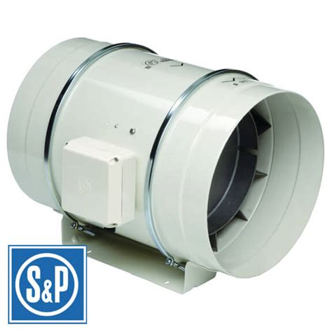 200 cfm inline exhaust fan s p soler palau ventilation soler palau bathroom