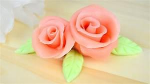 Comment Faire Secher Une Rose : faire une rose en p te d 39 amande cap p tissier youtube ~ Melissatoandfro.com Idées de Décoration
