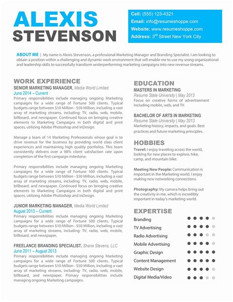 47 inspirational pictures of word resume template mac