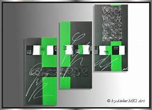 Bilder Acryl Modern : mk1 art bild leinwand abstrakt gem lde kunst malerei modern bilder xxl gr n ebay ~ Sanjose-hotels-ca.com Haus und Dekorationen