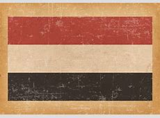 Old Grunge Flag of Yemen Download Free Vector Art, Stock