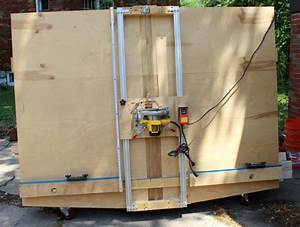 Ana White DIY Panel Saw - Featuring 2 Many Projects
