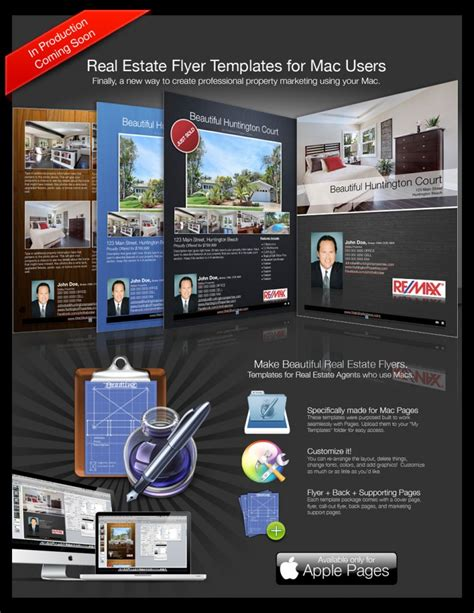 Brochure Template For Mac by Real Estate Flyers For Macs Turnkey Flyers