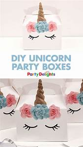 98+ Party Box Ideas - Dainty Little Cupcake Box, Children